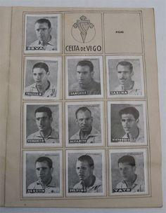 R.C. Celta de Vigo. Cromos Editorial Cisne 1942-43. Liga Española.