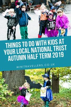Things to do with Kids at your local National Trust this Autumn Half Term 2019 - Mini Travellers - Family Travel & Family Holiday Tips Days Out With Kids, Family Days Out, Travel With Kids, Family Travel, Travel Uk, Running In The Rain, National Trust, Future City, Getting Bored
