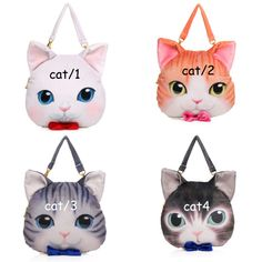 5b1837b324 Cute Kawaii Bow Cat Face Bag  24.70 enter