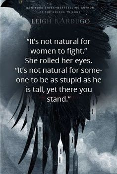 Six of Crows by Leigh Bardugo - Young Adult Fantasy - book quote #BooksQuotes