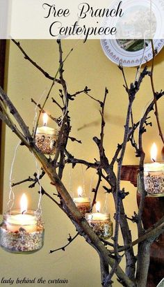 Combine them with branches to make the ultimate centerpiece.