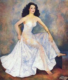 MARIA FELIX ----Diego Rivera                                                                                                                                                                                 More