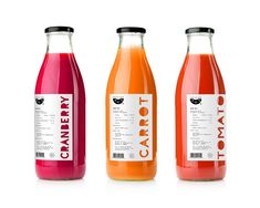 F.C.J. Direct Juice Packaging on Behance