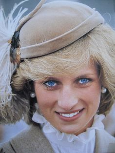 April 28, 1983: Princess Diana on a walkabout in Cathedral Square in Christchurch, New Zealand.