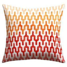 $33.62 OUTDOOR DENY Designs Arcturus Warm 1 Outdoor Throw Pillow, 26 x 2...