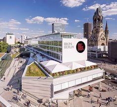 Le Concept Shopping Mall Bikini Berlin, architecture Bayerische Hausbau