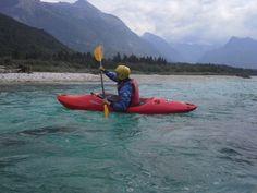 It`s beautiful. Kayaking on river Soca.