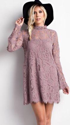 Mindy Lace Dress