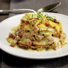 Gratin de pommes de terre au jambon | .coupdepouce.com