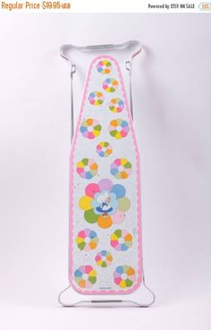 Ohio Art Vintage Fold Out Doll Child Sized Ironing Board Tin Metal  The Pink Room  170118 by ThePinkRoom