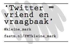 Twitter volgens @Kleine_Mark