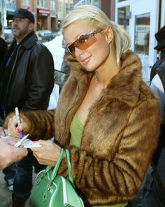 And sometimes — like, when she decided to be seen during daylight hours — she was capable of toning it down. | 22 Reasons Paris Hilton Was The Turn-Of-The-Century's Most Important Fashion Icon