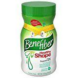 Benefiber Healthy Shape Taste-Free  Fiber Supplement Powder 17.6 ounces / 67 servings (Pack of 2)