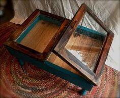old window coffee table by Hasenfeffer