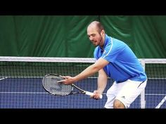 Tennis Doubles Lesson - Low First Volley - YouTube