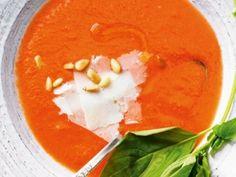 Tomaten Wassermelonensuppe