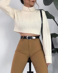 Cute Simple Outfits, Classy Outfits, Pretty Outfits, Casual Outfits, Cute Outfits, Grunge Fashion, Girl Fashion, Fashion Outfits, Fall Winter Outfits