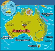 Australia Sightseeing Guide   TIME For Kids watch it !!!!!!! I think