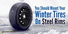 Spending a little to stay safe can save a lot of money. Don't spend on car repairs and hospital bills - spend on winter tires instead! Here's how mounting them on steel rims can save you even more money. Steel Rims, Steel Wheels, Miles Credit Card, Winter Tyres, All Season Tyres, Sounds Great, Wheels And Tires, Car Rental, Saving Money