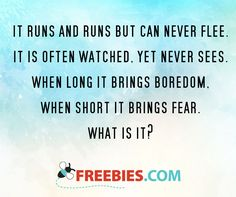 What do you think the answer to this riddle is?