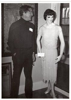 Blanche's new dress has caught the eye of Bristol Hunter.