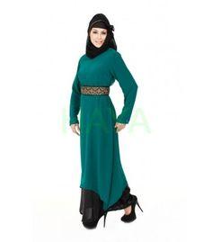 Dual colored abaya, a successful Islamic Clothing for women For $39.99 @ http://www.hayaislamicclothing.com/Women/Abaya-Jilbab/Abaya-119-JB