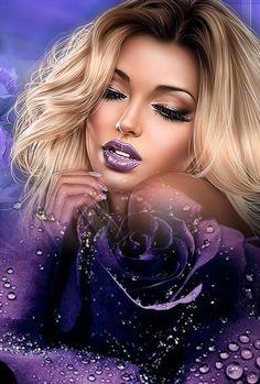Beautiful Girl Image, Beautiful Pictures, Beautiful Women, Dream Fantasy, 3d Face, Montages, Digital Art Girl, Love Photos, Girls Image