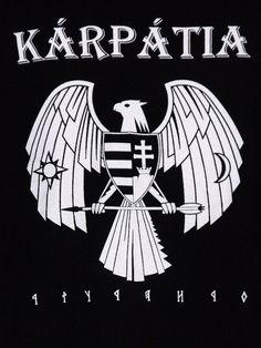 Kapucnis Zipráras Kárpátia Pulóver - Bátraké a szerencse Rockn Roll, Band Logos, Hungary, Tatoos, Wallpapers, Metal, Music, Movie Posters, Products