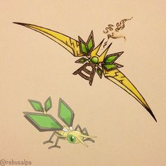 Vibrava Pokémon Weapon