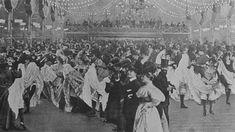 Inside the Moulin Rouge, Paris, 1898