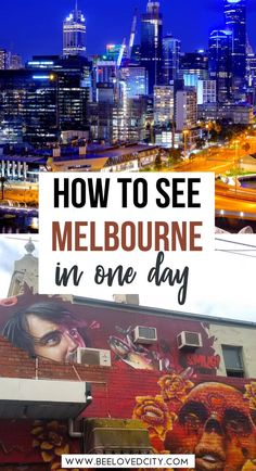Heading to Melbourne, Australia soon? Discover exactly how to see Melbourne in one day! Beautiful places in Melbourne Australia | Melbourne australia travel guide | Melbourne australia bucket list | Melbourne australia things to do | Melbourne australia itinerary | Melbourne australia aesthetic | Melbourne australia photography | Melbourne australia what to do in | Living in Melbourne australia | where to stay in Melbourne australia | cities in Australia | Melbourne australia instagram Melbourne Australia City, Places In Melbourne, Melbourne Travel, Australia Travel Guide, Best Places To Eat, Day Trips, Traveling By Yourself, Cities, Beautiful Places