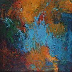 "Connie Connally, Chance Encounter, 2016, Oil on Canvas, 34"" x 34"", #020059, LewAllen Galleries"