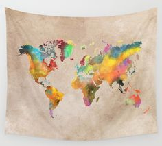 Worlds map | JBJart – art, photo, paintings.
