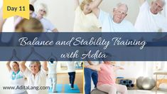Active Aging Workout Video Balance and Stability with Adita Lang Move Your Body, Super Powers, People Like, Healthy Tips, Workout Videos, Stability, Fitness Fashion, Muscles, First Time