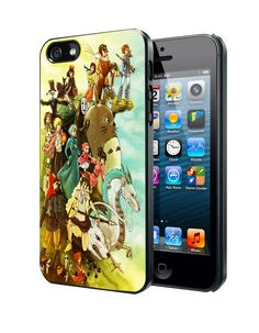 Studio Ghibli Characters Samsung Galaxy S3/ S4 case, iPhone 4/4S / 5/ 5s/ 5c case, iPod Touch 4 / 5 case