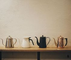 Which kettle do you use for kick your brewing up a notch?  いつもと一味違う特別な一杯を淹れるにはどのケトルを使いますか  #linkinbio    #shizukukettle #kintopouroverkettle  #yukiwakettle #kalitatsubamedrippot Brewing Equipment, Kettles, Barista, Lifestyle, Coffee, Design, Kaffee, Cup Of Coffee
