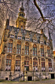 City Hall of Veere (NL)