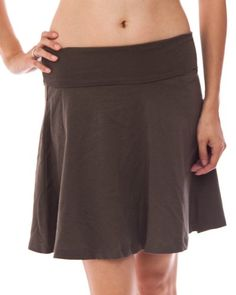 Olive Ladies Mini Skirt Foldable Waist >>> Be sure to check out this awesome product.