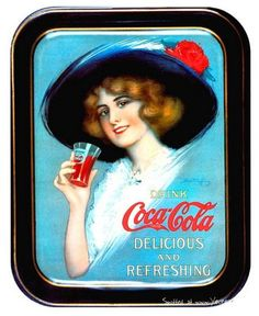 304 Best VINTAGE - Coca-Cola Trays images in 2017 | Serving trays