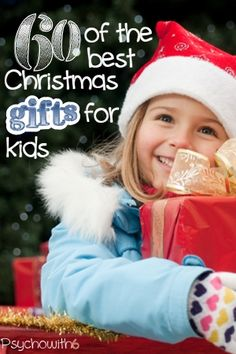 60 of the Best Christmas Gifts for Kids - a mother of 6 shares the gifts her kids have remembered, used, and loved the most for the past 16 years.