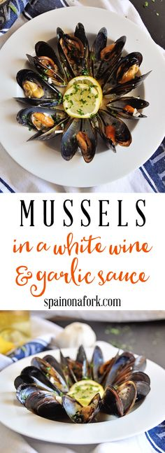 The best Mussels in White Wine Sauce - Cooking Recipes Seafood Casserole Recipes, Best Seafood Recipes, Tapas Recipes, Healthiest Seafood, Salmon Recipes, Fish Recipes, Healthy Recipes, Recipes Dinner, Drink Recipes