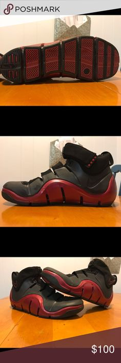0f224e33c75c2 Lebron 4 s The overall construction of the shoe – grooved sole