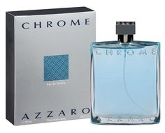 Chrome Cologne by Azzaro 6.7 / 6.8 oz Eau De Toilette Spray for Men NIB FREE SH #Azzaro