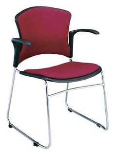 OFM 310-FA - Multi-Use Stack Chair with Arms