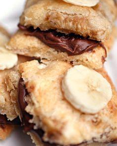 Banana Chocolate Cookie Sanwiches