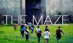 the maze runner. Can't wait to see this movie! It was a great book
