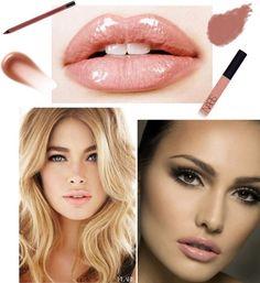 Nude Lip for Summer looks Beauty Nails, Beauty Makeup, Eye Makeup, Hair Makeup, Hair Beauty, Makeup 101, Lots Of Makeup, Make Eyes Pop, Bronze Skin