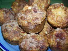Passion cuisine... de mère en fille: Muffins aux pommes et au babeurre Muffin Recipes, Bread Recipes, Biscuits, Muffins, Scones, Passion, Breakfast, Cake, Food