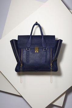 Phillip Lim, PASHLI SATCHEL, Blue, Bag, I want it.