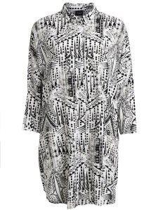 805e577d245d Vila - white shirt dress with print.
